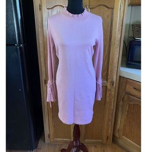 Almost Famous Pink Mini Sweater Dress XL